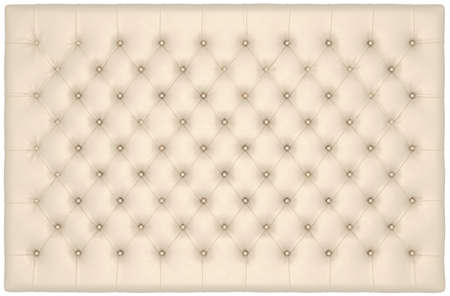 matrass: Beige Luxury buttoned leather mattress useful as background. Extralarge resolution