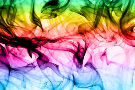 Abstract colorful fume background useful as texture photo
