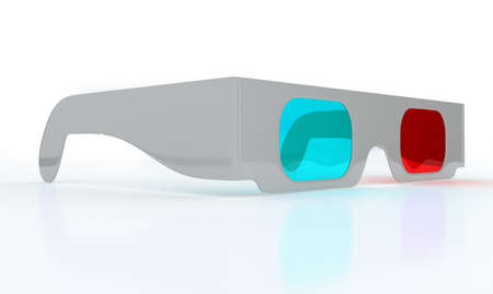 3dtv: Stereoscopic 3D glasses for watching 3DTV with reflection