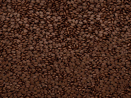 Coffee beans texture or background. Large resolution photo