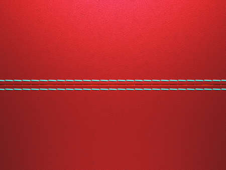 Red luxury stitched leather background. Large resolution Stock Photo - 9065820