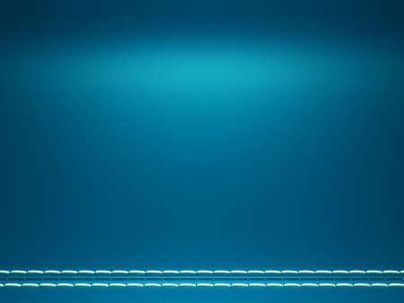 stitched: Blue horizontal stitched fabric background. Large resolution Stock Photo