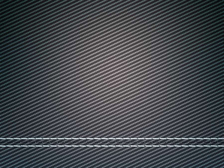 Stitched carbon fiber: Useful as texture or background photo