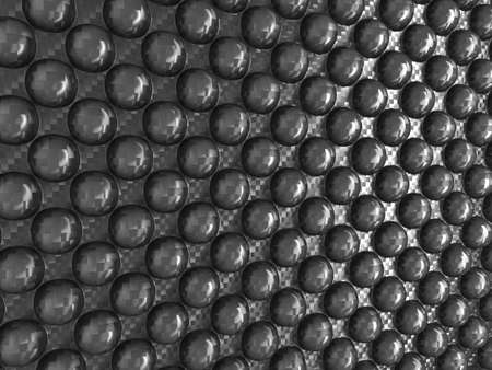 Carbon fibre with Abstract pimples. Useful as background Stock Photo