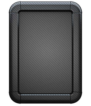 carbon fiber: Álbum de anuncio de fibra de carbono aislada sobre el fondo blanco