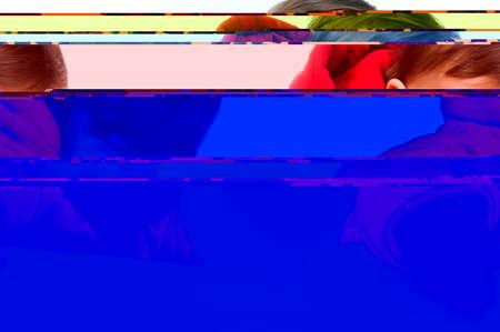 dof: Moving Upwards: colorful arrows over white background (shallow DOF)