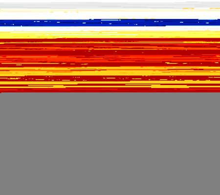 autocollant: Rep�r� Orange autocollant hamous ronde ou une �tiquette sur fond blanc