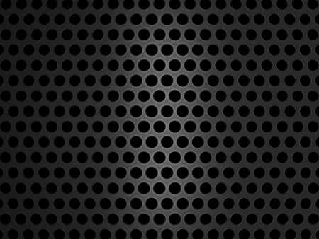 speaker grille pattern: Metallic grill texture on black background. Large resolution