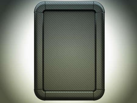 carbon fibre: Carbon fibre lightbox over studio light background Stock Photo