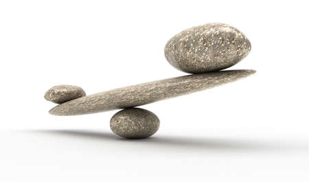 ponderous: Weighty argument: Pebble stability scales with large and small stones