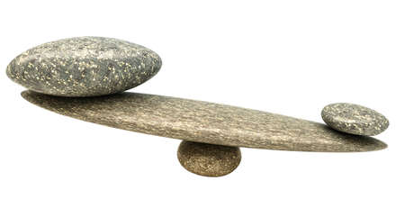 influential: Influential thing: Pebble stability scales with large and small stones