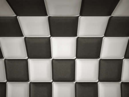 incurved: Incurved chequered leather pattern with rectangle segments  Large resolution