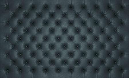 高級黒ケリ大規模な解像度の革の質感