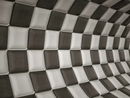 black leather texture: Chequered leather pattern with rectangle segments. Large resolution
