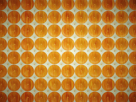 matrass: Leather and Wood: pattern with round shapes. Useful as texture