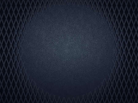 meshy: Leather background with circle and meshy pattern. Large resolution Stock Photo