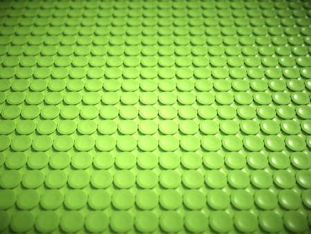 bulging: Green bulging circles texture or background. Large resolution (artistic shallow DOF) Stock Photo