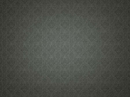embossment: Black Leather background with impression victorian pattern. Useful for luxury