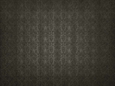 Mock Croc background with embossment or stamping victorian pattern. Useful for luxury photo