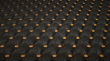 embossment: Mock Croc background with pattern and buttons. Artistic shallow DOF