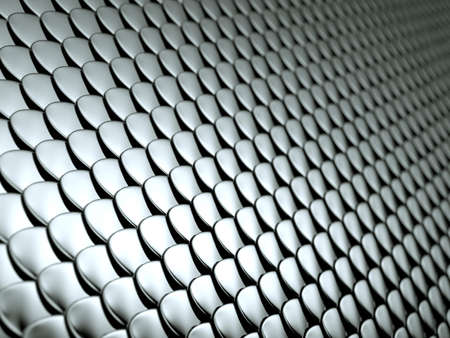 squama: Close-up of Scales textured metallic chrome background. Large resolution