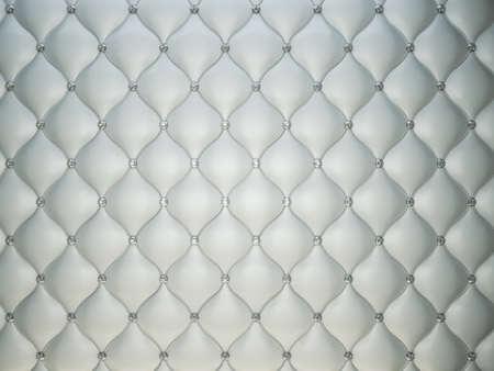 Luxury grey leather background with diamonds or gemstones. Useful as luxury pattern