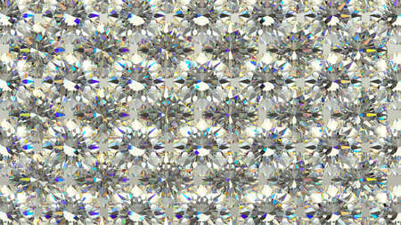 gems: Sparkling large Diamonds or gems in rows. high resolution