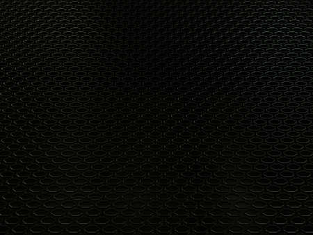 grille: Closeup of auto engine radiator grille industial background or texture. Metallic black Aluminium Material and Reflections. 3d rendering, 3d illustration