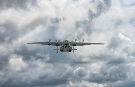 AN-22 Antonov Antei departed from the Kyiv-Antonov-2 International Airport to perform commercial missions to fight the coronavirus. AN-22 is the world's largest turboprop-powered aircraft. May 27, 2020