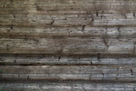 Wooden Rustic texture or background. Aged wood wall and boards Standard-Bild