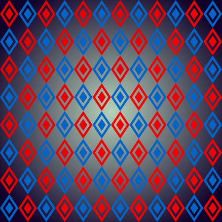 vector, illustration, design, art, seamless, rhombus, abstract,red,blue painting, backgrounds, pattern, decoration, elegance, textured, wallpaper, square, red, shape, blue, clothing, rough, floor, imagery, architectural, element, traditional, objects equi