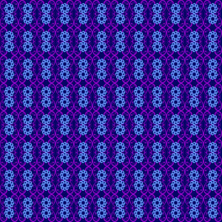 beautiful pattern of blue flowers,floral ornament Illustration