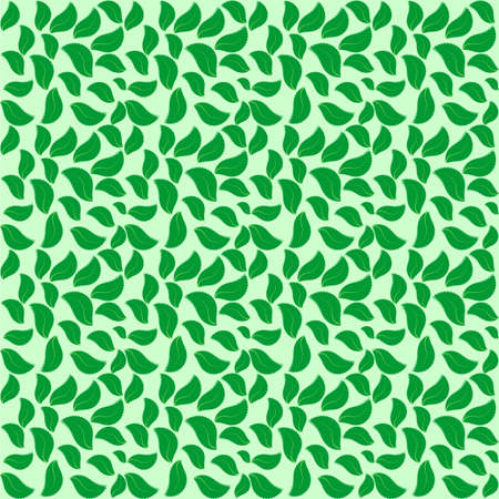 leaves scattered in a chaotic manner,green leaf texture,nicely spaced sheets