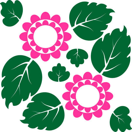 pink flowers with green leaves in the background