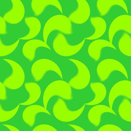 Seamless background of light green leaves.Vector illustrations
