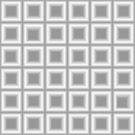 3d squares arranged in a geometric pattern, vector illustrations Illustration
