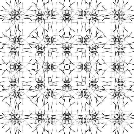 pattern - geometric  black and white modern texture