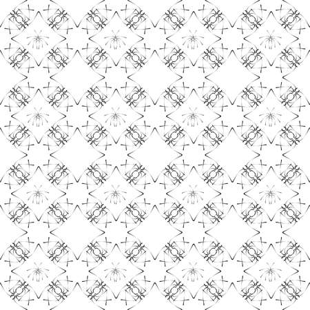 seamless pattern. Modern stylish texture. Repeating geometric tiles Illustration