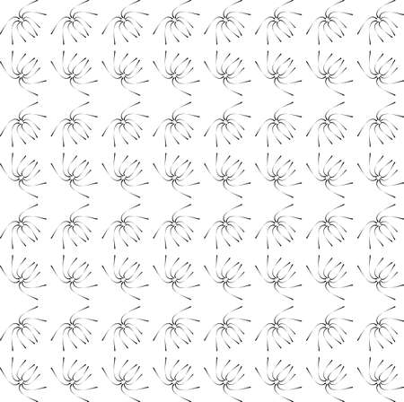 pattern - geometric seamless simple black and white modern texture  Stock Vector - 21746798
