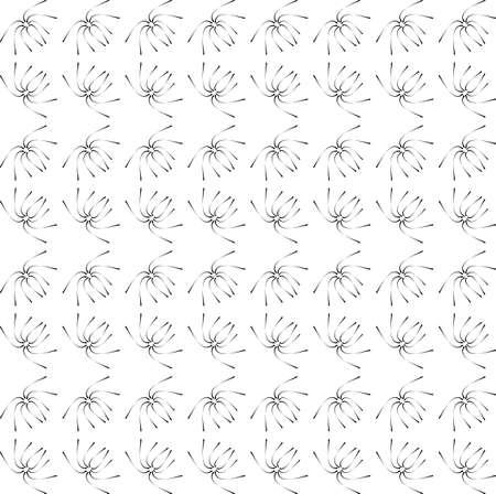 pattern - geometric seamless simple black and white modern texture  Illustration