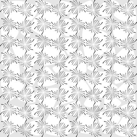 Spiderweb Seamless Background Pattern. Modern black and white wallpaper