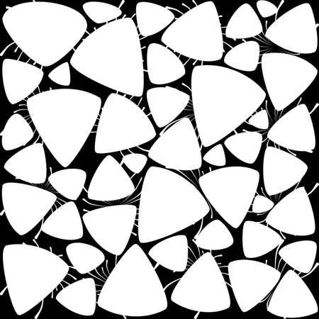 Spiderweb Background Pattern. Modern black and white wallpaper Illustration