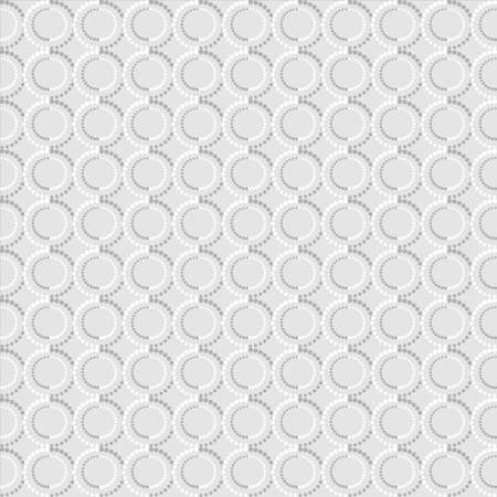 Black and white texture of circles. Vector seamless background  Illustration