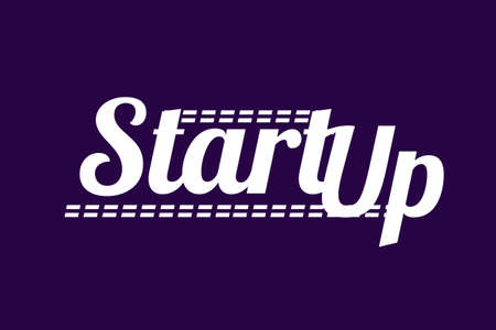 Start Up Text company, concept.