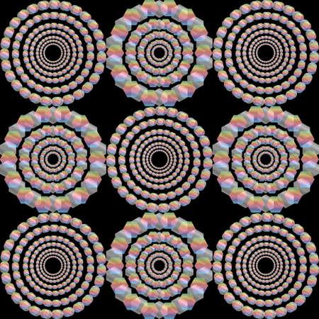 Trendy seamless pattern designs. Vector geometric background. Archivio Fotografico - 125294862