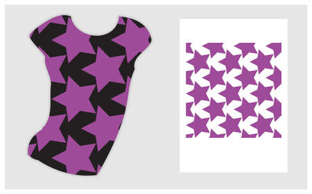 T shirt for clothes design. Ideal for fabric, wallpaper, textile, bedding, t shirt print.