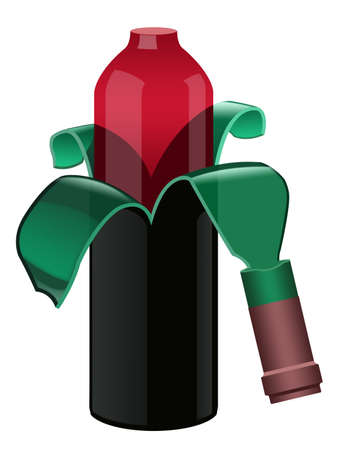 Peeled wine Stock Photo - 9738846