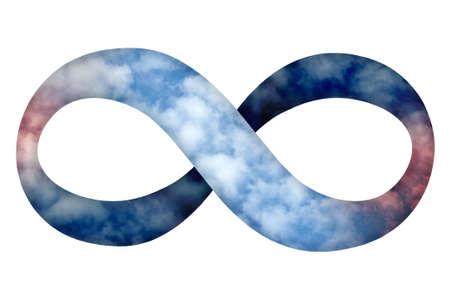 infinito simbolo: Giorno per giorno Archivio Fotografico