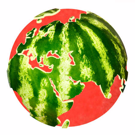 Water melon planet