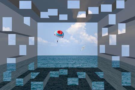 3D-Film Standard-Bild - 12677130